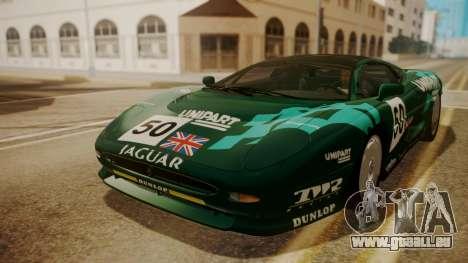 Jaguar XJ220 1992 FIV АПП pour GTA San Andreas roue