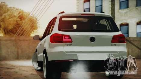 Volkswagen Tiguan Vossen Edition pour GTA San Andreas