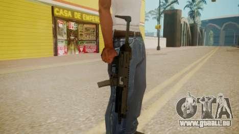 GTA 5 MP5 für GTA San Andreas dritten Screenshot