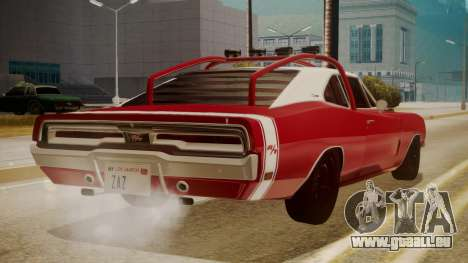 Dodge Charger O Death RT 1969 für GTA San Andreas linke Ansicht