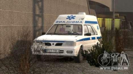 Daewoo-FSO Polonez Cargo Krankenwagen 1999 für GTA 4 Innen