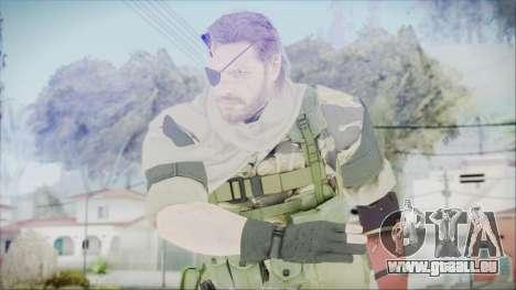MGSV Phantom Pain Snake Scarf Tiger für GTA San Andreas