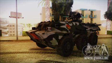 Norinco Type 92 from Mercenaries 2 für GTA San Andreas