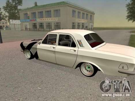 GAZ 24 BQ pour GTA San Andreas vue arrière