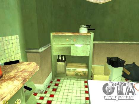 Wohnung von GTA IV für GTA San Andreas neunten Screenshot