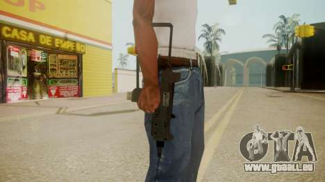 GTA 5 Micro SMG für GTA San Andreas dritten Screenshot