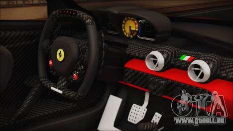 Ferrari FXX K 2016 v1.1 [HQ] pour GTA San Andreas vue de droite