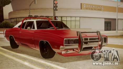 Dodge Charger O Death RT 1969 pour GTA San Andreas