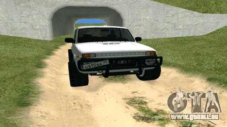 Lada Urban OFF ROAD für GTA San Andreas Rückansicht