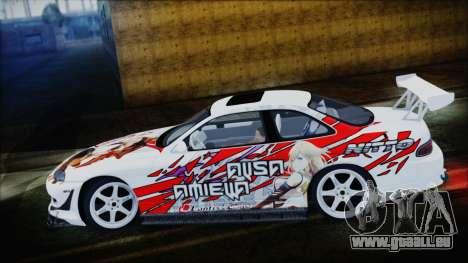 Lexus SC300 Edit pour GTA San Andreas laissé vue