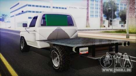 Ford F-150 Con Sonido für GTA San Andreas linke Ansicht