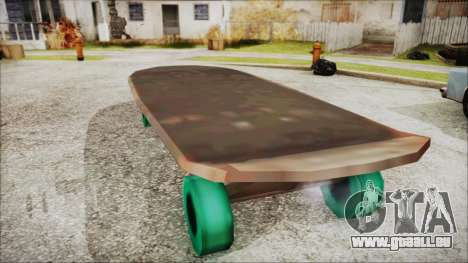 Giant Skateboard für GTA San Andreas linke Ansicht