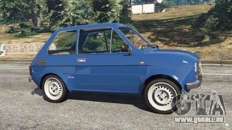 GTA 5 Fiat 126p v1.1 vue latérale gauche