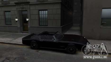 Classic Muscle Phoenix IV pour GTA 4 Vue arrière