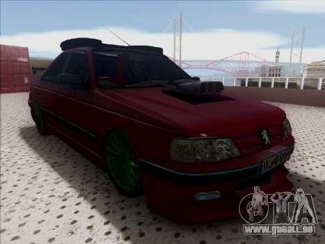Peugeot Pars Full Sport pour GTA San Andreas