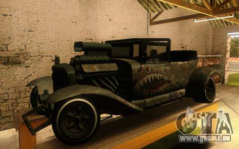 Albany Frenken Stange Rusty Edition pour GTA San Andreas