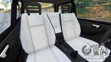 GTA 5 Fiat Tipo droite vue latérale