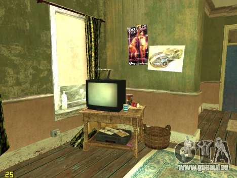 Appartement de GTA IV pour GTA San Andreas cinquième écran