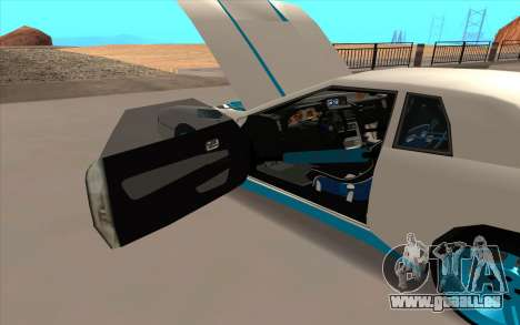 Elegy DRIFT KING GT-1 pour GTA San Andreas moteur