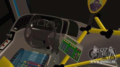 Mercedes-Benz OH1315LSB Metalpar Tronador für GTA San Andreas zurück linke Ansicht