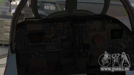 Northrop Grumman EA-6B Prowler VAQ-129 pour GTA San Andreas vue de droite
