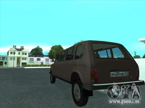 VAZ 2131 samudera ont pour GTA San Andreas vue de droite