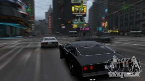 Classic Muscle Phoenix IV pour GTA 4 Vue arrière de la gauche