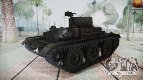 T7 Combat Car für GTA San Andreas zurück linke Ansicht