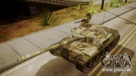 AMX 30 from Mercenaries 2 World in Flames pour GTA San Andreas vue de droite