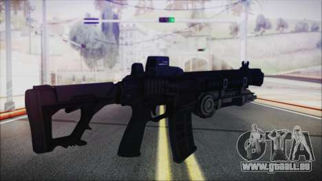 SOWSAR-17 Type G Assault Rifle with Grenade für GTA San Andreas zweiten Screenshot