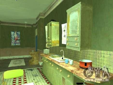 Wohnung von GTA IV für GTA San Andreas elften Screenshot