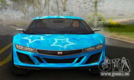 Dinka Jester (GTA V) Blue Star Edition pour GTA San Andreas