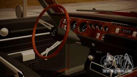 Dodge Charger O Death RT 1969 pour GTA San Andreas vue de droite