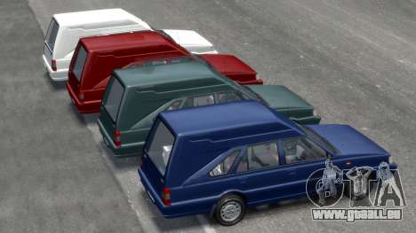 Daewoo-FSO Polonez Cargo Van Plus 1999 pour GTA 4 roues