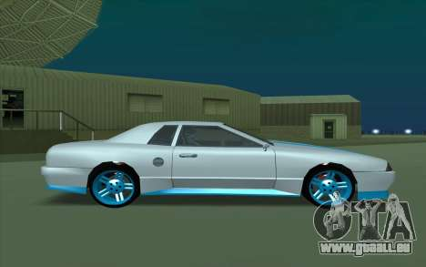 Elegy DRIFT KING GT-1 pour GTA San Andreas sur la vue arrière gauche
