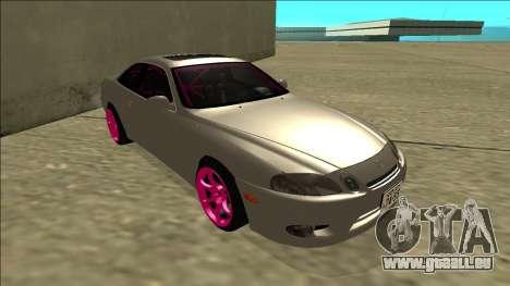 Lexus SC 300 Drift pour GTA San Andreas laissé vue