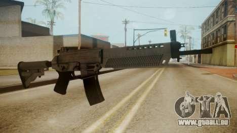 SIG-556 Patrol Rifle White pour GTA San Andreas deuxième écran