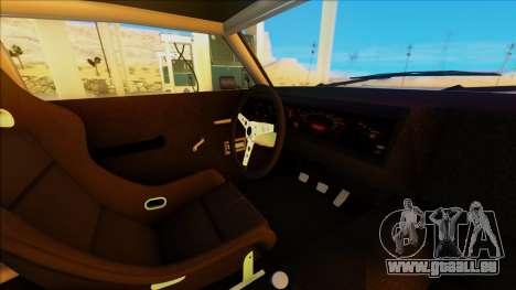 Sabre Race Edition pour GTA San Andreas vue arrière