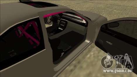 Lexus SC 300 Drift für GTA San Andreas Rückansicht