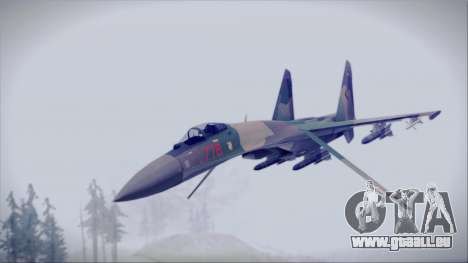 Sukhoi SU-35S East German Air Force pour GTA San Andreas