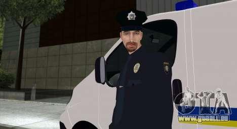 La Police Nationale D'Ukraine pour GTA San Andreas