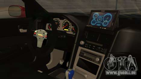 Nissan Skyline R34 FnF 4 v1.1 für GTA San Andreas rechten Ansicht