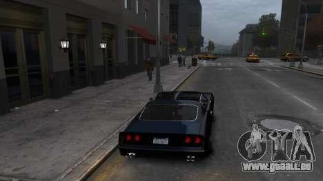 Classic Muscle Phoenix IV pour GTA 4 est un droit