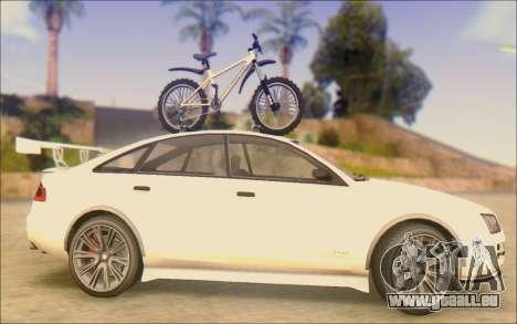 Obey Tailgater Special Tuning pour GTA San Andreas laissé vue