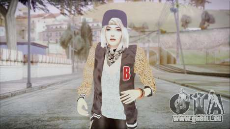 Home Girl Chola 2 für GTA San Andreas
