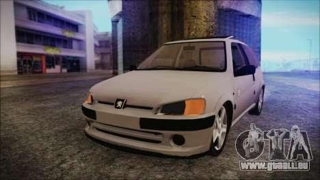 Peugeot 106 für GTA San Andreas