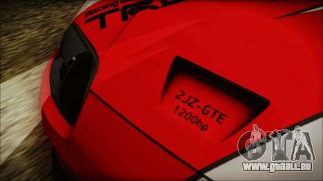 Toyota Supra JZA80 Kantai Collection Haruna PJ für GTA San Andreas Innenansicht