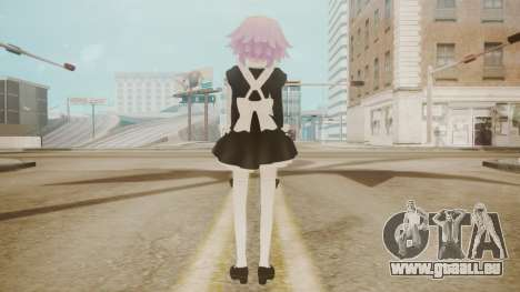 Neptune Maid [Hyperdimension Neptunia] für GTA San Andreas dritten Screenshot