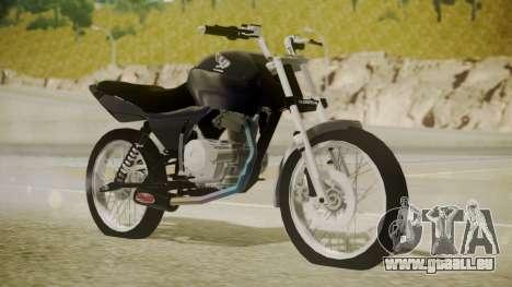 Honda Titan CG150 Stunt für GTA San Andreas