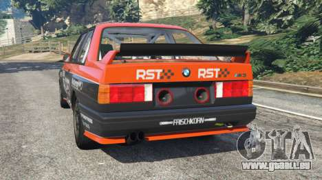 BMW M3 (E30) 1991 [RST] v1.2 für GTA 5